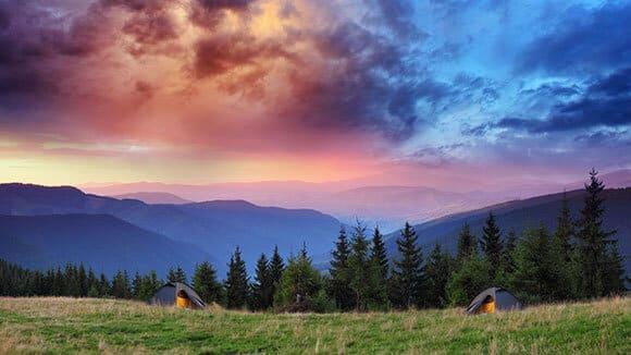 backpacking tahoe camping adventure