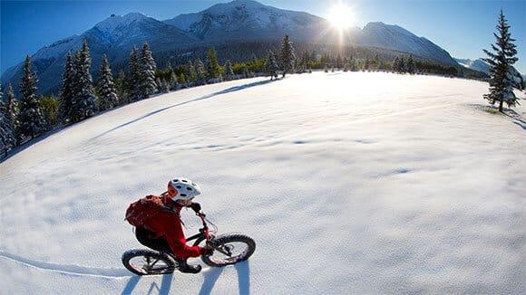 Winter Tahoe tour - snowshoeing paddle and kayaking adventure