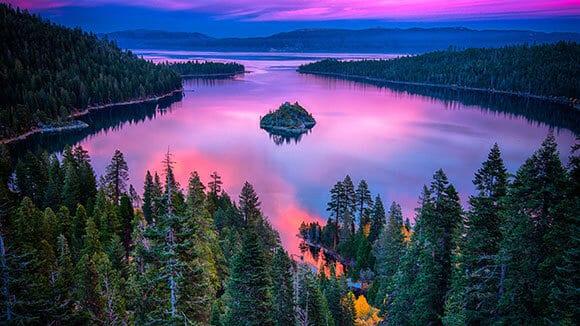 Lake Tahoe kayak tour - Emerald Bay kayaking adventure