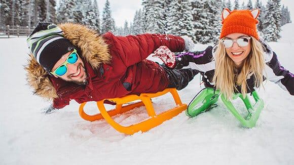 tahoe sledding area private