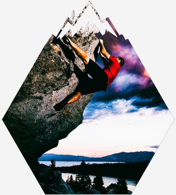 climbing Tahoe routes