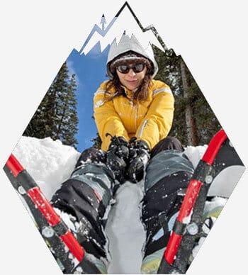 Snowshoe tours south lake